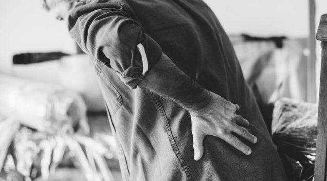 okropny ból pleców